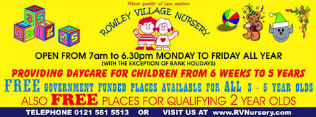 Rowley Village Nursery